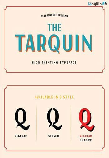 Tarquin-AT-Font