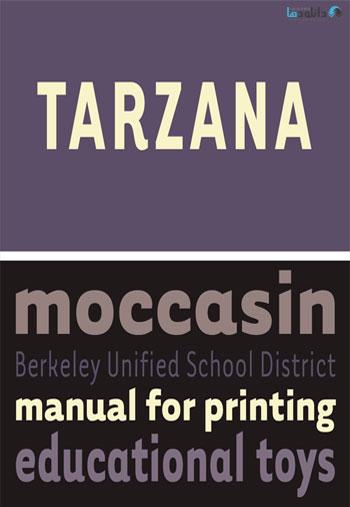 Tarzana-Font