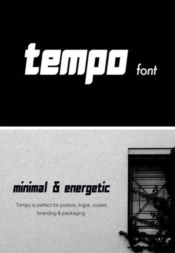 Tempo-Font