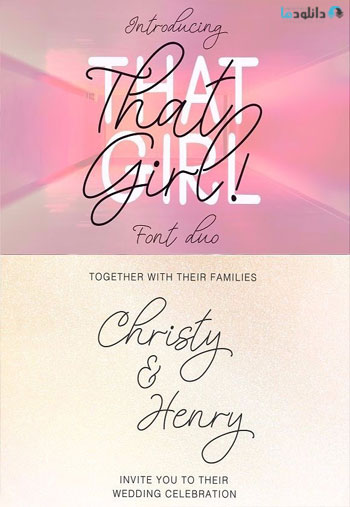 That-Girl-Font-Duo
