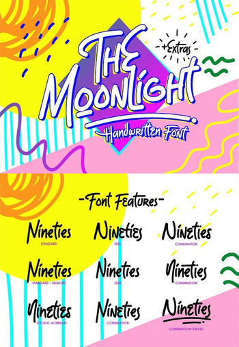 The-Moonlight-Font-Display