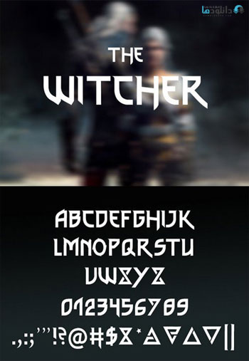 The-Witcher-font