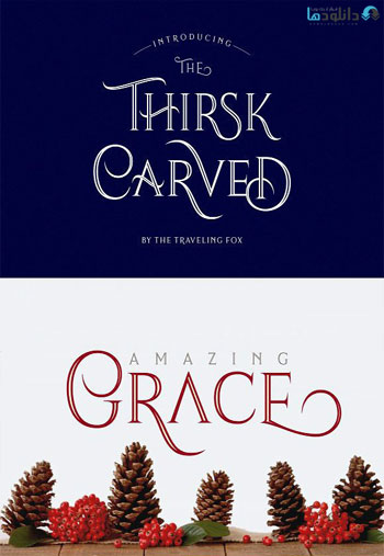 Thirsk-Carved