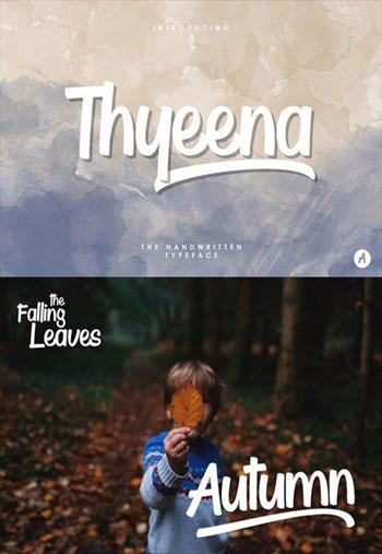 Thyeena-font