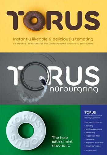 Torus-Font-Family