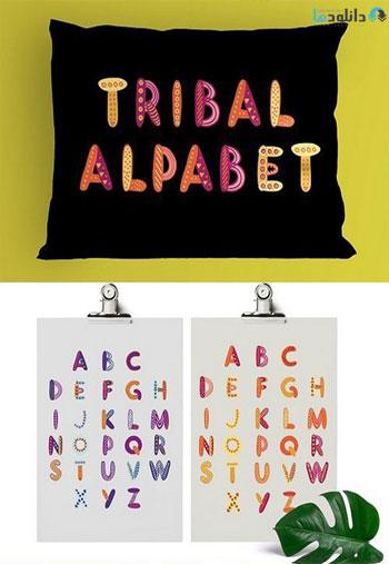 Tribal-alphabet