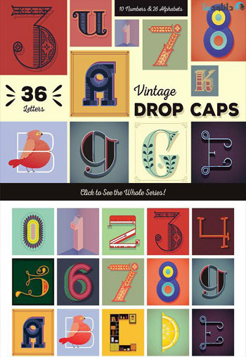 Vintage-Drop-Caps