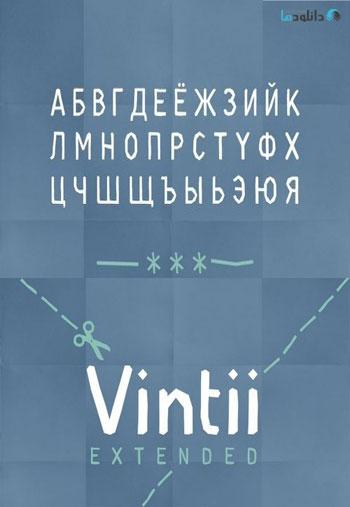 Vintii-Extended-Font