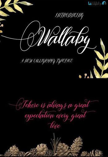 wallaby-font