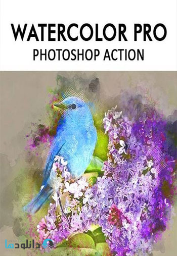 Watercolor Pro Photoshop Action