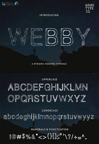 Webby Font