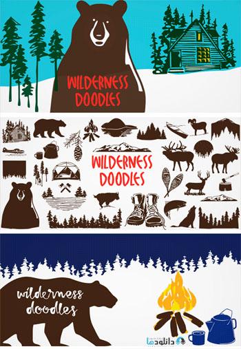 Wilderness Doodles Font