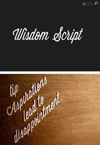 Wisdom-Script-Font
