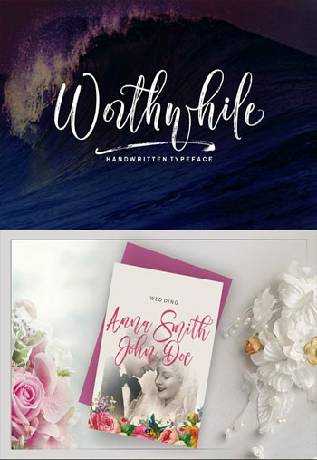 Worthwhile-Font-Script