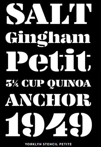 Yorklyn-Stencil-Font-Family