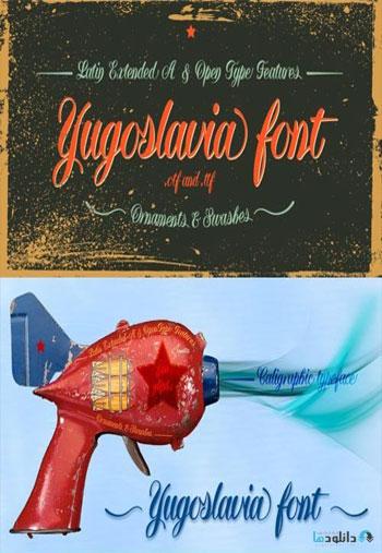 Yugoslavia-Font