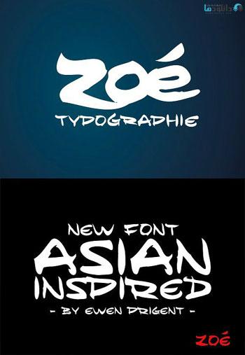 Zoe-font