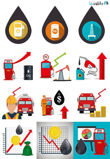 Oil-Industrial-Icons