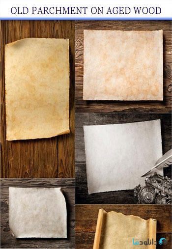 Old-parchment-on-aged-wood