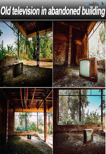 Old-television-in-abandoned