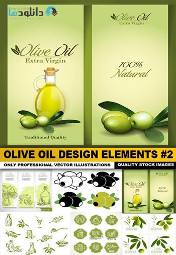 Olive-Oil-Design-Elements