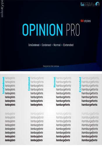 Opinion-Pro-Font