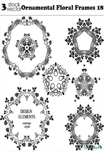 Ornamental-Floral-Frames