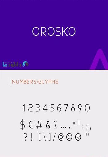 Orosko-font