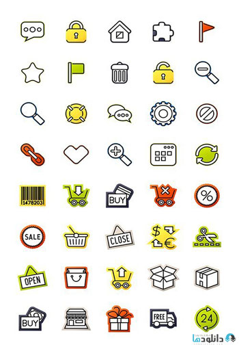 Outline-icons-thin-flat