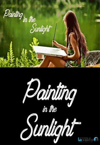 Painting-in-the-Sunlight-Font