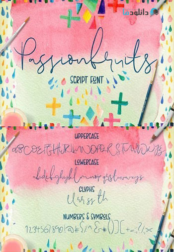 Passionfruits-Script-Font