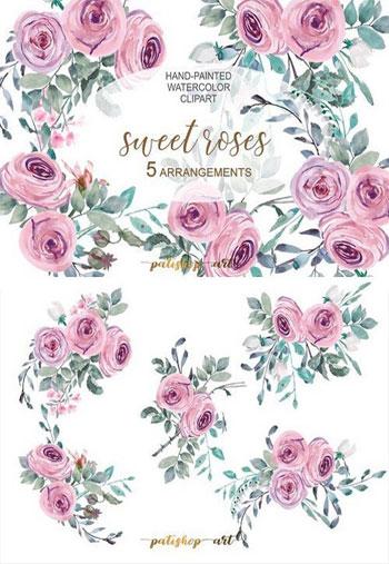 Pastel-Pink-Floral-Arrangem