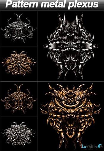 Pattern-metal-plexus