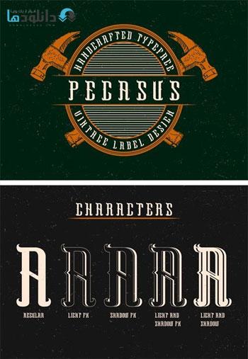 Pegasus-Label-Font