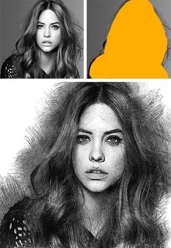Pencil-Draw-Photoshop