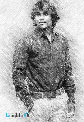 اکشن-فتوشاپ-pencil-drawing-photoshop-acttion