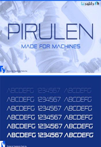 Pirulen-Font-Family