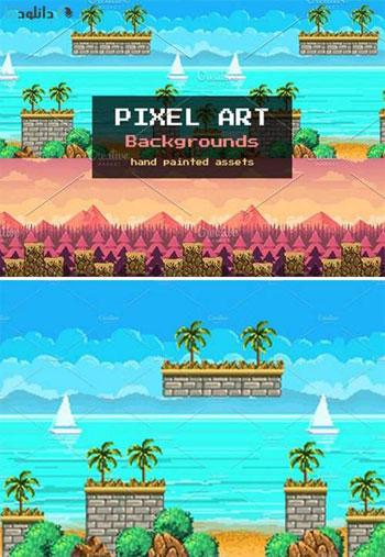 Pixel-Art-Backgrounds