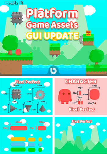 Platform-Game-Assets