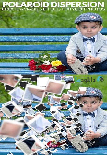 Polaroid-Dispersion-Photosh