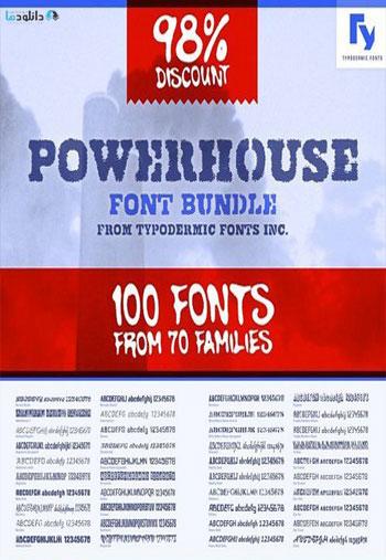 Powerhouse-Font-Bundle