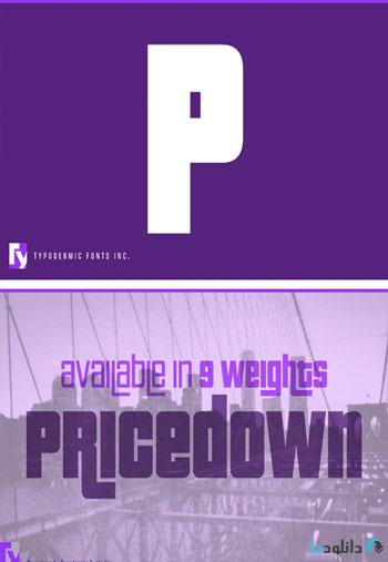 Pricedown-Font