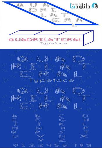Quadrilateral-font