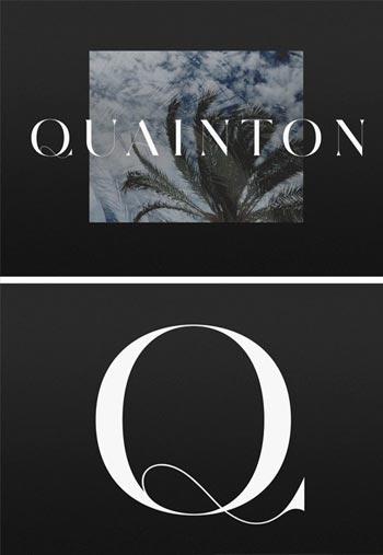 Quainton-Font