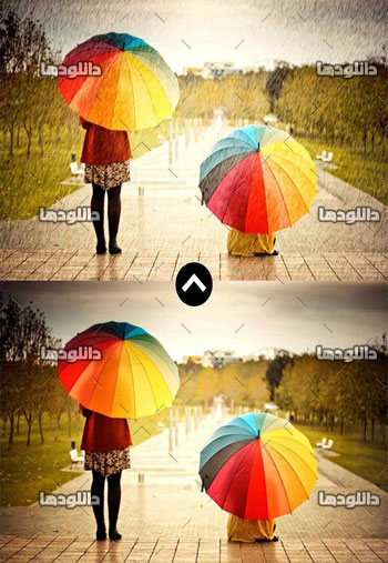 Rain-Photoshop-Action-Effect