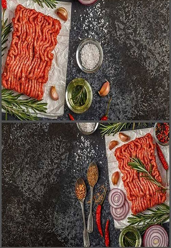 Raw-minced-meat-on-paper