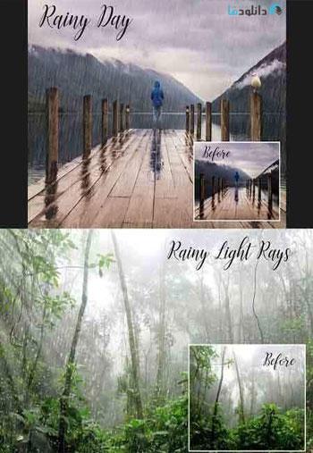 Realistic-rain-overlays