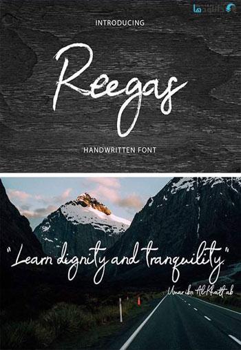 Reegas-Font