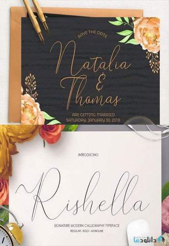 Rishella-Signature-Font