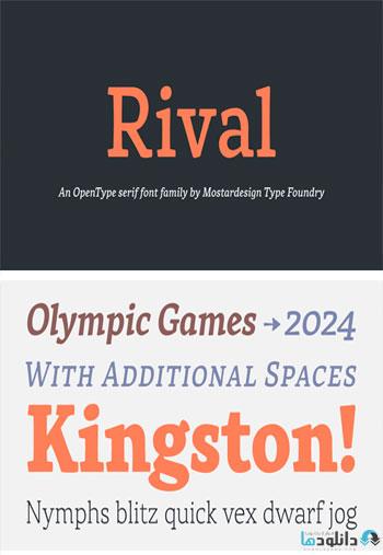 Rival-Font
